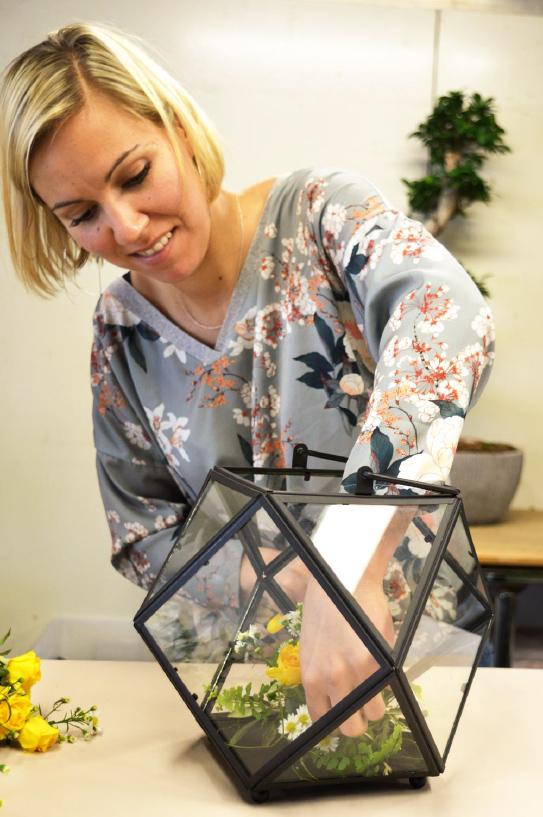 Mathilde Delmas : l\'artisan fleuriste évènementiel de référence